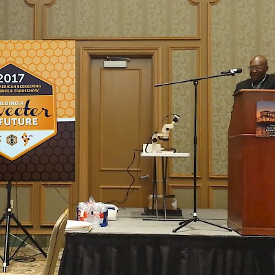 Galveston, TX - N.A. Beekeeping Conference presentation